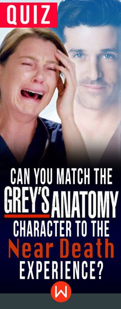 Grey's quiz: Can you match the Grey's anatomy character to the near death experience? Basically, every Grey's character has been close to death. Do you remember them all? greys anatomy quiz, shondaland, merder, greys deaths, greys near deaths, greys trivia quiz, Patrick Dempsey, Ellen Pompeo, Derek Shepherd.