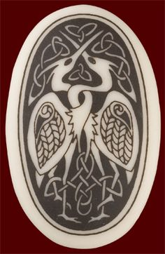 celtic love birds- this would make a cool tattoo