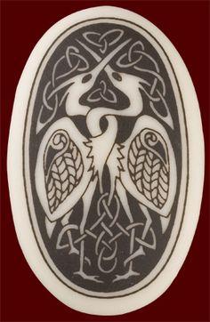 celtic love birds