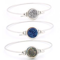 Bracelet Drusy | Perles Corner