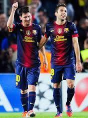 Judi Bola Sbobet – Jordi Alba terus saja memberikan kenyataan bahwa rekannya Lionel Messi sama sekali tak resah untuk berada di Camp Nou.