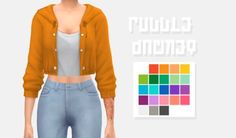 Puddle jacket // cc recolor by frenchysims - the sims 4 Sims Mods, Sims 4 Mods Clothes, Sims 4 Clothing, Sims 4 Cc Skin, Sims 4 Mm Cc, Maxis, Vêtement Harris Tweed, Muebles Sims 4 Cc, Sims4 Clothes