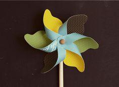 Mariage DIY : les moulins à vent