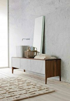 Beautiful vanity unit.
