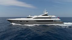 TURQUOISE Superyacht | Luxury Motor Yacht for Sale with Burgess