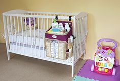 New Diaper Caddy with hard plastic body - 100% stability even with heavy items!