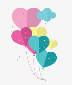 Celebrate balloons, Festival, Birthday, Heart PNG and Vector Wallpaper Iphone Cute, Cute Wallpapers, Cardboard Box Crafts, Paper Crafts, E Frame, Kids Background, Decorate Notebook, Art Prints Quotes, Flower Wall Decor