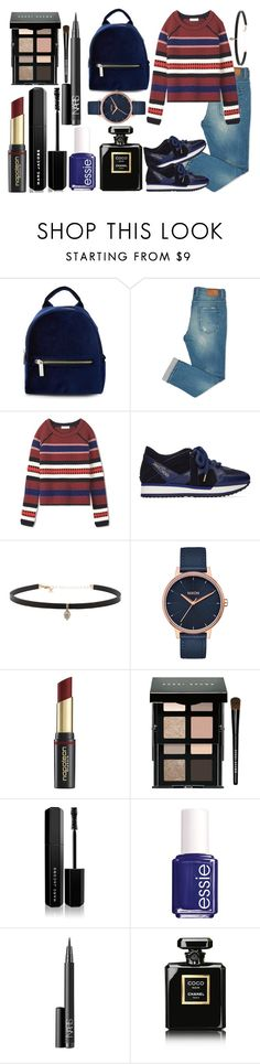 """Sweater weather"" by nina-evenhuis ❤ liked on Polyvore featuring Skinnydip, Tory Burch, Jimmy Choo, Carbon & Hyde, Nixon, David Jones, Bobbi Brown Cosmetics, Marc Jacobs, Essie and NARS Cosmetics"