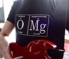Men's OMG Tee :) For our nerdies :*