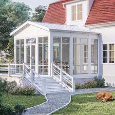 Dream Home Design, House Design, Planter Bench, Hot Tub Cover, Back Steps, Porch Area, Getaway Cabins, Villa, Modern Planters