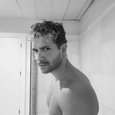 ❤ @pabloalboran Head & Shoulders, Black N White, Male Face, Antonio Mora, Beautiful Men, Hot Guys, Eye Candy, Instagram, 1