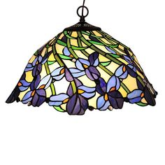 Shop Chloe Lighting  CH19052BF19-DH2 2 Light Iris Hanging Large Pendant at ATG Stores. Browse our pendant lights, all with free shipping and best price guaranteed.