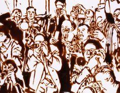 """""""Uma ilusão compartilhada por todos torna-se uma realidade.""""   # Aldous Huxley # Paparazzi - 1997 - Vic Muniz"""