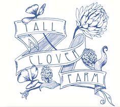 Farm logo designed by this farmer's friend, Brent Houston.