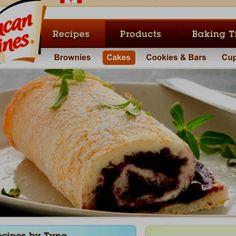 Blueberry Angel Food Cake Rolls Recipe Duncan Hines