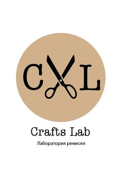 logo--- I like how it has scissors in between that represent crafts