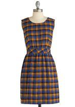 Tulle Clothing Plaid to Help Dress | Mod Retro Vintage Dresses | ModCloth.com <3