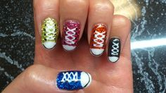 sneakers! Class Ring, Nail Art, Nails, Sneakers, Beauty, Jewelry, Trainers, Beleza, Jewellery Making