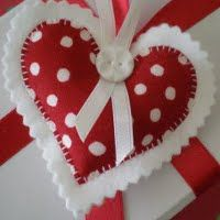 Heart Shaped Charming Ornament