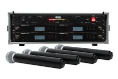 Shure BLX24RSM58 4 Pack Wireless Handheld Mic System with VRL Power Supply *** Visit the image link more details.