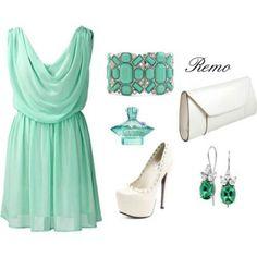 Mint green pretty
