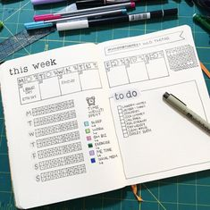 Bullet Journal Weekly Spread - A ton of Ideas and inspiration for layouts