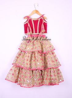 d7f23110466 Best Ethnic Wear Online for Girls   Baby Girls at Peony Kids Couture an  Online store in India
