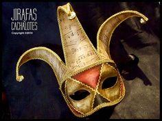 mascaras venecianas: Antifaz Jolly ♥♥