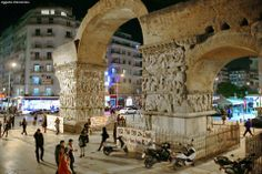 Arch of Galerius, Thessaloniki By Aggelos Oikonomou Visit Greece, Thessaloniki, Macedonia, Nymph, Mount Rushmore, Arch, Culture, Landscape, City