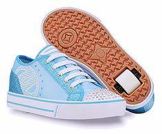 Heely's Sassy Roller Shoe (Blue/White)
