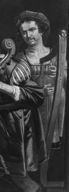 Dutch / Jan van Bijlert (1598-1671) / Members of the Van Haeften family making music (detail) / c. 1640