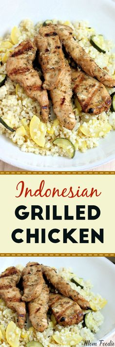I whipped up a batch of Indonesian Grilled Chicken for dinner tonight. My six year old (Little Foodie) is quite fussy. It isn't that she doesn't love healthy foods, heck the bulk of her diet is raw fruits and veggies. Put a chocolate chip cookie and a thick slice of raw sweet potato on the …
