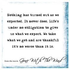 Gone With The Wind Quote
