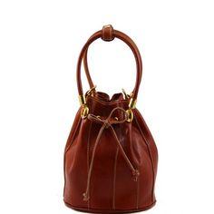 Leather handbags for women - Clara - Secchiello Leather bag TL60193