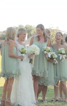 country wedding bridesmaid dresses   Riverhill Country Club Viridian Design Wedding Film   Austin Wedding ...