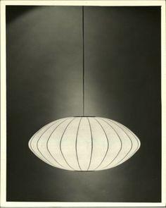 Isamu Noguchi.  This design always makes me think of sea urchins.