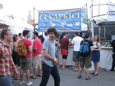 """Love Greekfest, Mayfest, and a little-known one - Velika Gospa (pictured) in Bridgeport"" - @southportlanes"