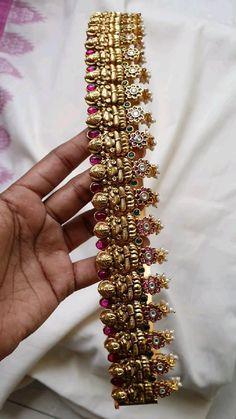 Antique Jewellery Designs, Beaded Jewelry Designs, Gold Earrings Designs, Necklace Designs, Antique Jewelry, Gold Bangles Design, Gold Jewellery Design, Silver Jewelry, Fine Jewelry