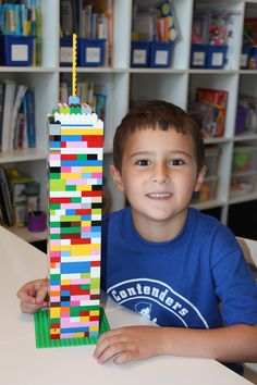 Once a month my kids get to participate in a Lego Club. It's a super simple concept and the kids love it!  So how do you start your own Lego club? Simple, find about 6-10 kids who love Lego's and invite them over to show off their stuff! You'll Need: A gracious host, although you could easily rotate between…