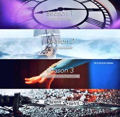 Season Finales of OnceUponATime so far!! I can't wait till season 5 >.<