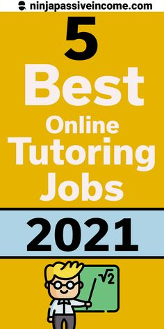 Check out the 5 best online tutoring jobs for teachers and college students. Get paid to teach online [$2500+/Month] #onlinejobs #workfromhome #sidehustleideas #makemoneyonline #onlinetutoringjobs Make Money Fast, Make Money From Home, Teach Online, Online Jobs From Home, Jobs For Teachers, How To Remove, How To Apply, Proofreader, Online Tutoring