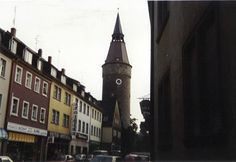 Kitzigen, Germany  The tower leans because the morter was made with wine during a terrible drought, or so I was told.  This was the first place we lived when we moved to Germany.