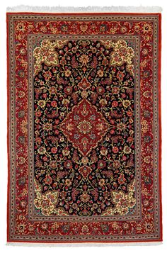 Ghom - hand knotted iranian carpet - KR 930  Size210 x 142 cm