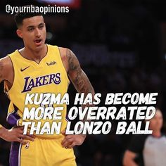 regram @yournbaopinions  Disagree. I wouldnt really call Kuzma or Ball overrated. Both have had lots of hype but both deserved it.  Agree or Disagree?  -  #yournbaopinions http://ift.tt/2za2LJA