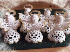 Crochet Angels, Communion, Baby Shoes, Christmas, Tube, Amigurumi, Shawl, Christmas Angels, Creative