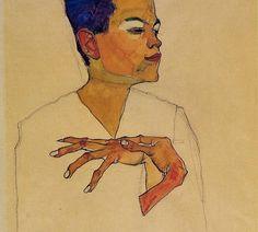 self portrait Egon Schiele: The Radical Nude