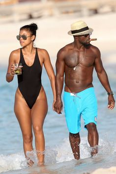 Pin for Later: Kevin Hart and Eniko Parrish Kick Off Their Tropical Honeymoon in St. Barts