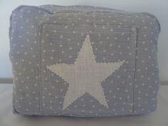 trousse de toilette pour enfant en tissu de lin : Trousses par les-tiroirs-de-manine