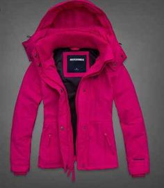 Hot pink winter jacket☃