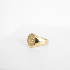 Pinky Signet Ring | J. Hannah Fine Jewelry